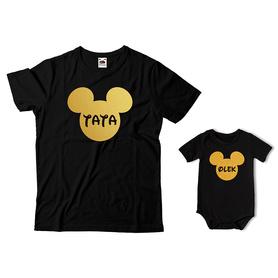 Komplet koszulka dla Taty + body C12