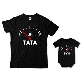 Komplet koszulka dla Taty + body C19