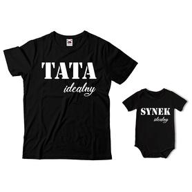 Komplet koszulka dla Taty + body C21