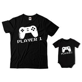 Komplet koszulka dla Taty + body C23