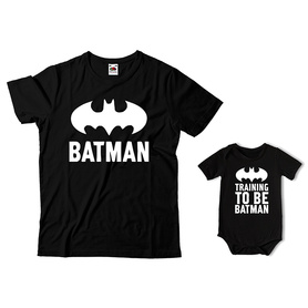 Komplet koszulka dla Taty + body C24