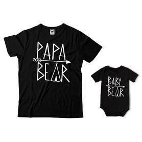 Komplet koszulka dla Taty + body C26