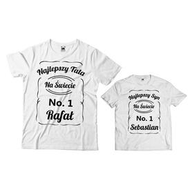 Komplet koszulek dla Taty i Syna 09