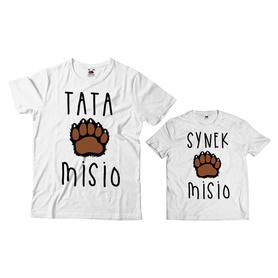 Komplet koszulek dla Taty i Syna 10