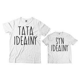 Komplet koszulek dla Taty i Syna 12