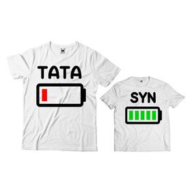 Komplet koszulek dla Taty i Syna 13
