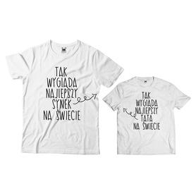 Komplet koszulek dla Taty i Syna 16