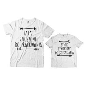 Komplet koszulek dla Taty i Syna 18