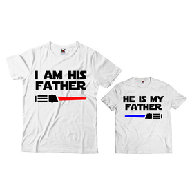 Komplet koszulek dla Taty i Syna 19