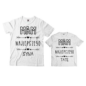 Komplet koszulek dla Taty i Syna 20