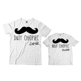 Komplet koszulek dla Taty i Syna 21