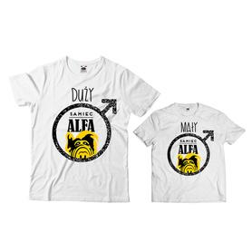Komplet koszulek dla Taty i Syna 22