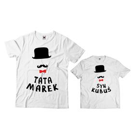 Komplet koszulek dla Taty i Syna 26