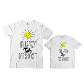 Komplet koszulek dla Taty i Syna 27