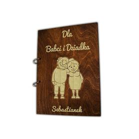 Album brązowy dla Dziadków 02