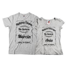 Komplet koszulek dla Pary 07