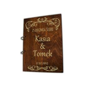 Album brązowy na Rocznicę Ślubu 04
