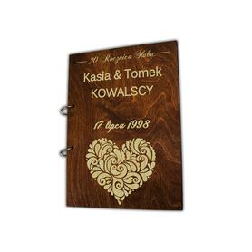 Album brązowy na Rocznicę Ślubu 05