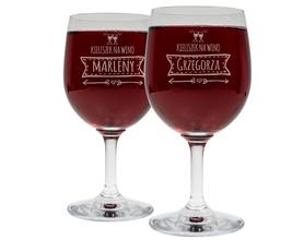 Kieliszki do wina 250ml na Ślub 14