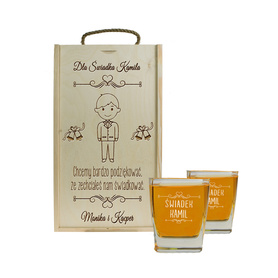 Pudełko ze szklankami dla Świadka SJ01