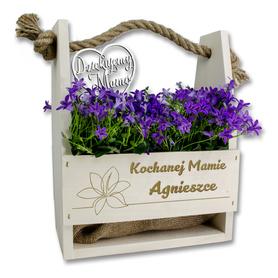 Doniczka na kwiaty dla Mamy 01