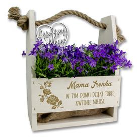 Doniczka na kwiaty dla Mamy 02