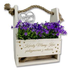Doniczka na kwiaty dla Mamy 08