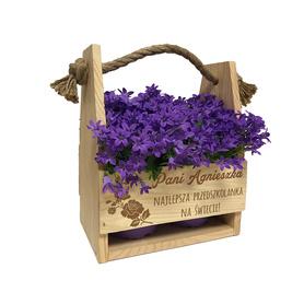 Doniczka na kwiaty dla Nauczyciela 02