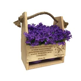 Doniczka na kwiaty dla Nauczyciela 03