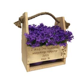 Doniczka na kwiaty dla Nauczyciela 06