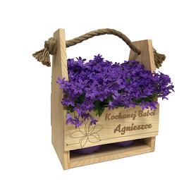 Doniczka na kwiaty dla Babci 01