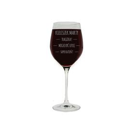 Kieliszek do wina 370ml z napisami 01
