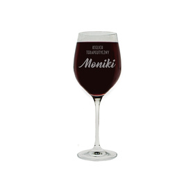 Kieliszek do wina 370ml z napisami 02