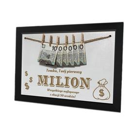 Ramka pierwszy milion 02