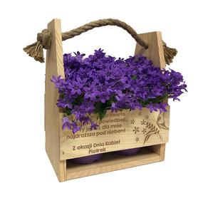 Doniczka na kwiaty dla Dziewczyny 03