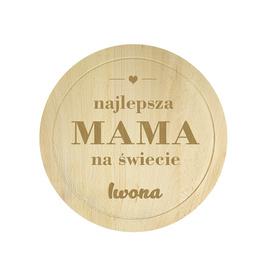 Deska bukowa dla Mamy 04
