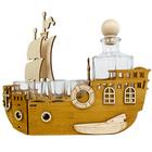 Statek + karafka i 6 kieliszków (2)