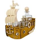 Statek + karafka i 6 kieliszków (3)