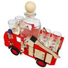 Wóz strażacki + karafka i 6 kieliszków (4)