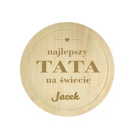 Deska bukowa dla Taty 04