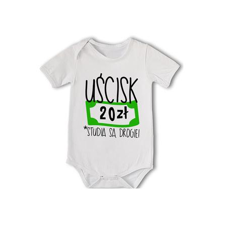 Poważne Body dla dziecka ze śmiesznym nadrukiem uścisk 20zł - eprezencik.pl JM82