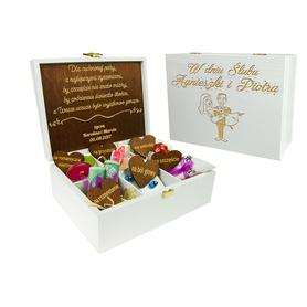 Pudełko białe na Ślub 15