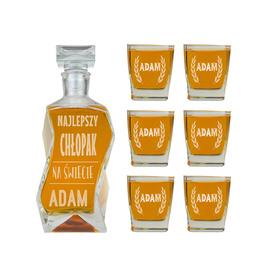 Karafka i 6 szklanek dla Chłopaka 03