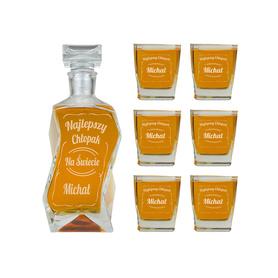Karafka i 6 szklanek dla Chłopaka 05