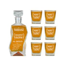 Karafka i 6 szklanek dla Chłopaka 07