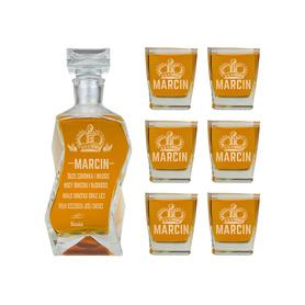 Karafka i 6 szklanek dla Chłopaka 09