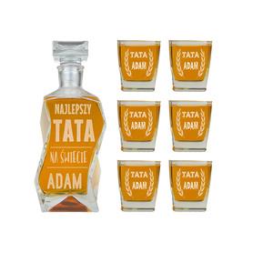 Karafka i 6 szklanek dla Taty 03