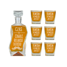 Karafka i 6 szklanek dla Taty 12