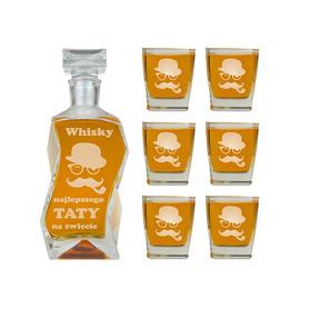 Karafka i 6 szklanek dla Taty 15