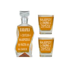 Karafka i 2 szklanki dla Chłopaka 11